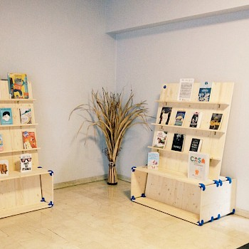Functional book display