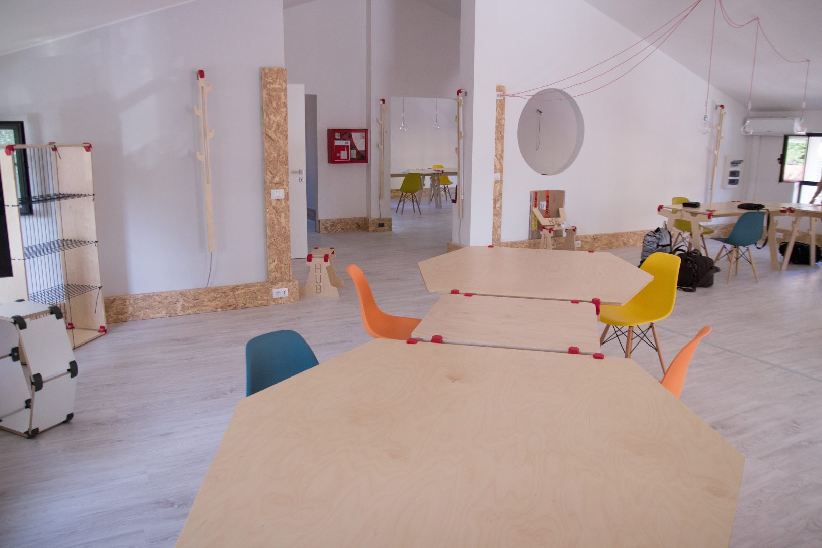 Impact Hub - The place where the furniture changes along with your project