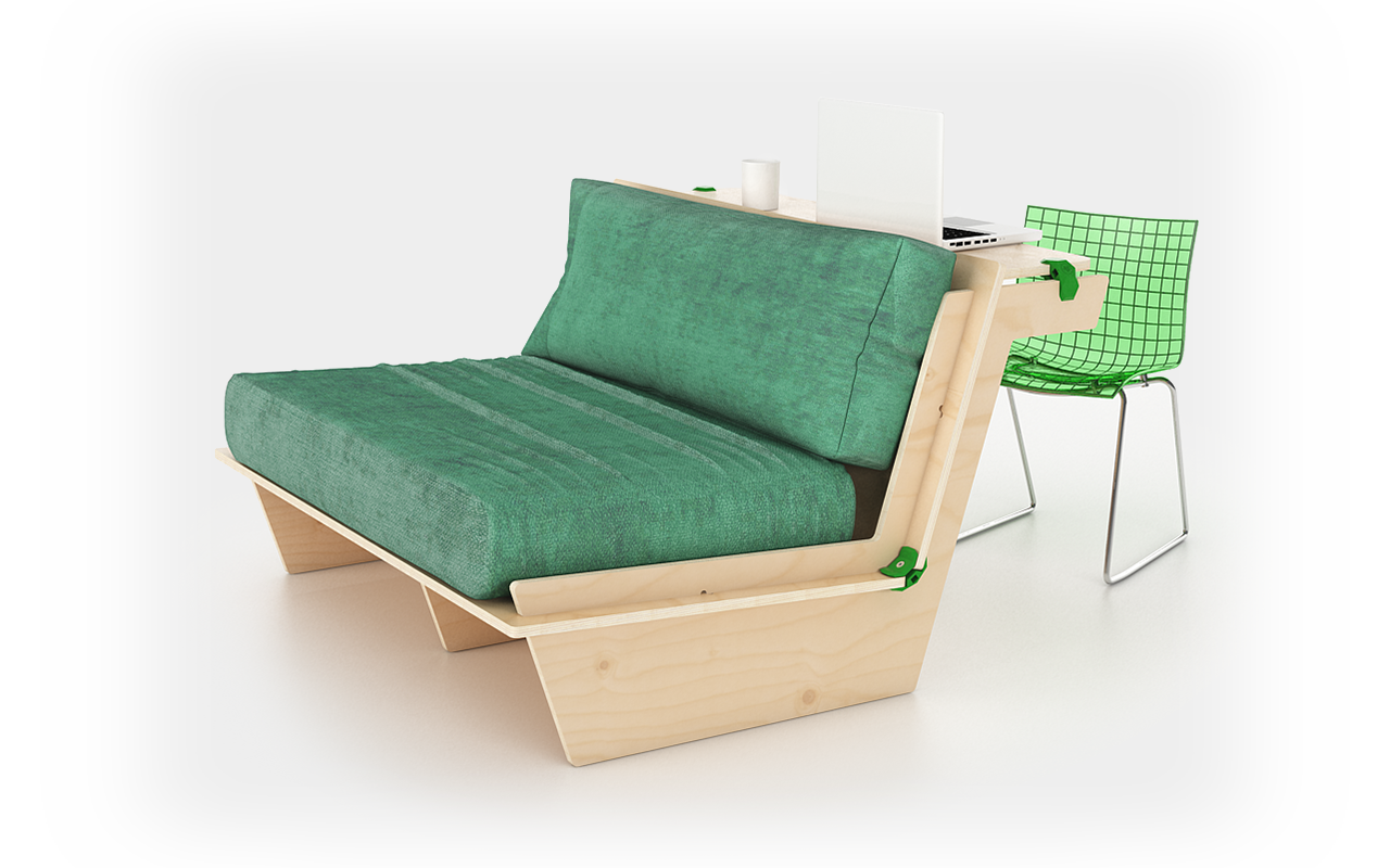 PlayWood DAK - Sofa