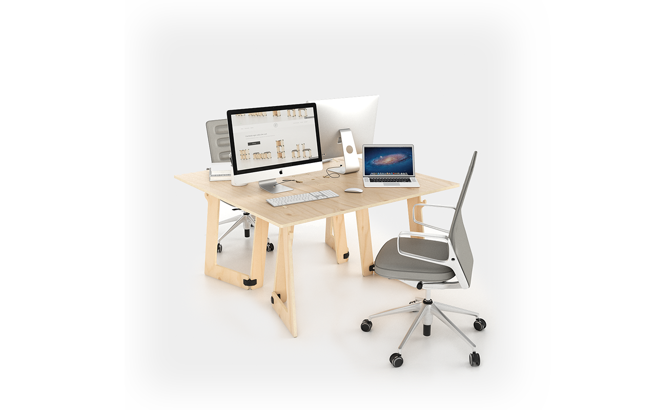 PlayWood KARYA - Desk 140