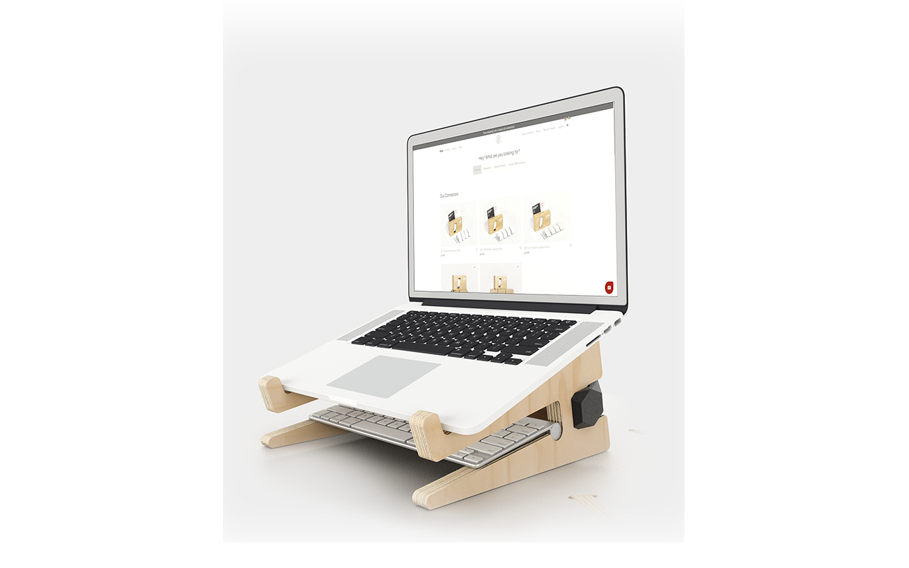 PlayWood LIFTY - Laptop riser