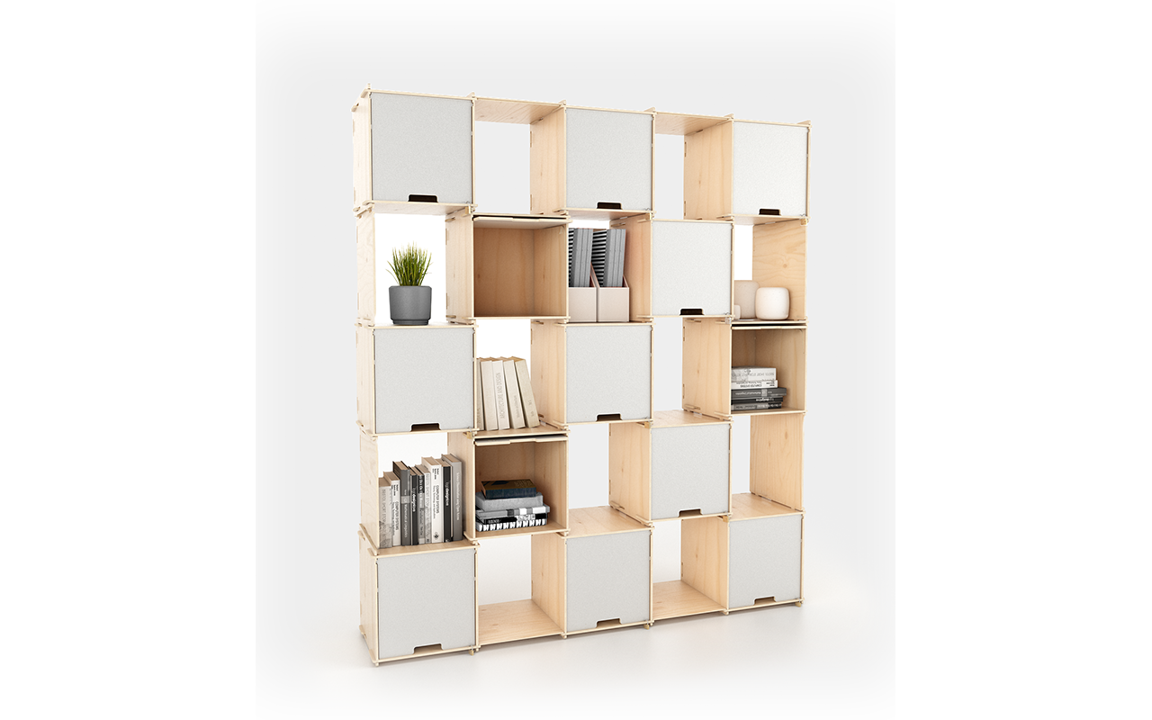 PlayWood SCACCOMATTO - Bookcase