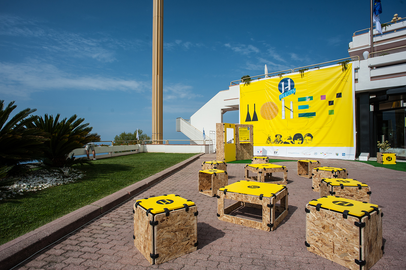 HEROES meet PlayWood in Maratea: the most innovative and ambitious South of Italy